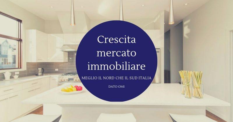 Crescita mercato immobiliare, meglio il Nord che il Sud Italia